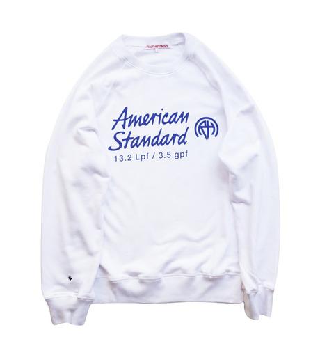 Richardson Magazine(リチャードソン マガジン)のAmerican Standard Raglan Crew-WHITE(カットソー/cut and sewn)-AW16006-4 詳細画像1