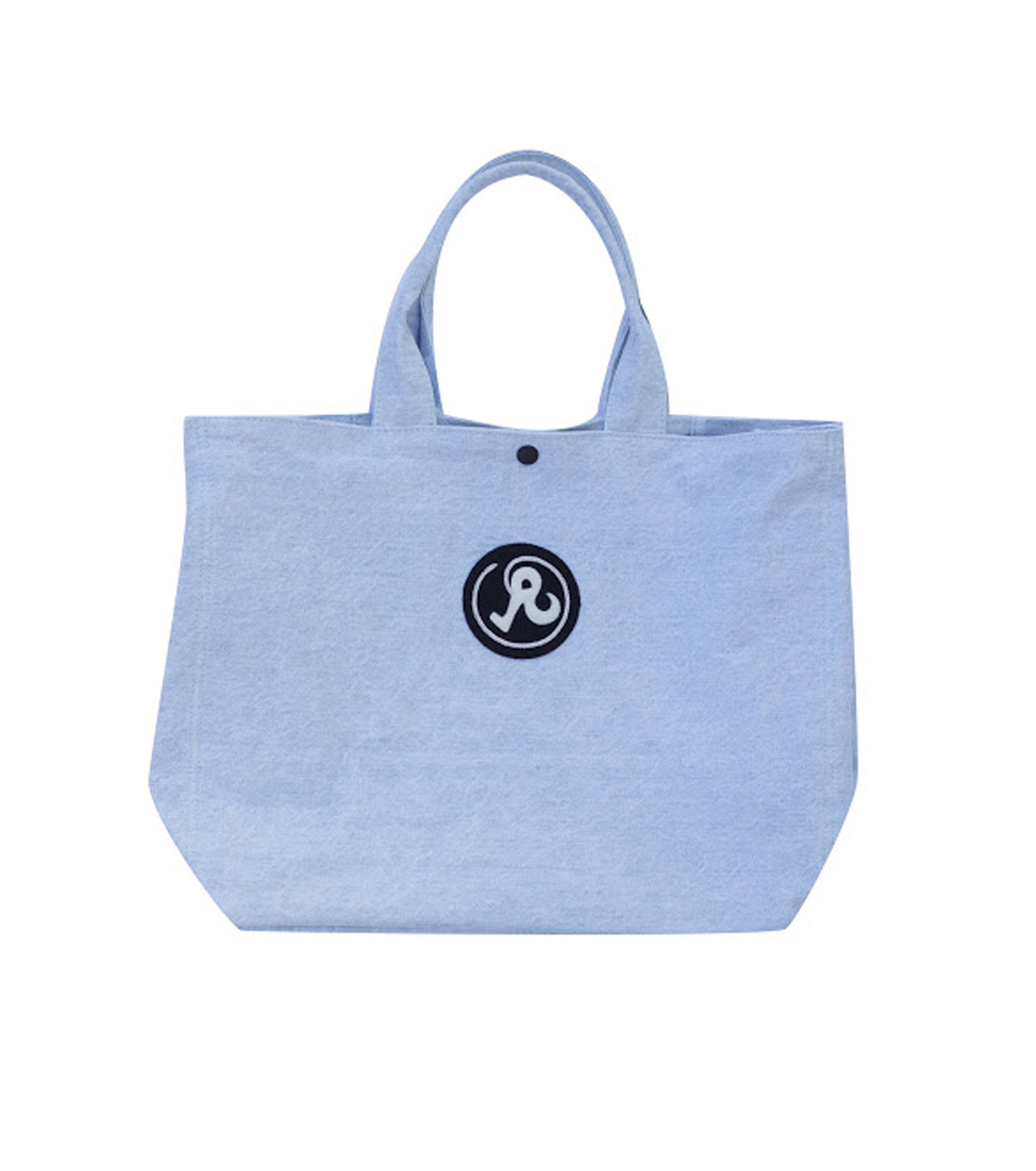 Richardson Magazine(リチャードソン マガジン)のDenim Tote-BLUE(ハンドバッグ/hand bag)-AW16011-92 拡大詳細画像1