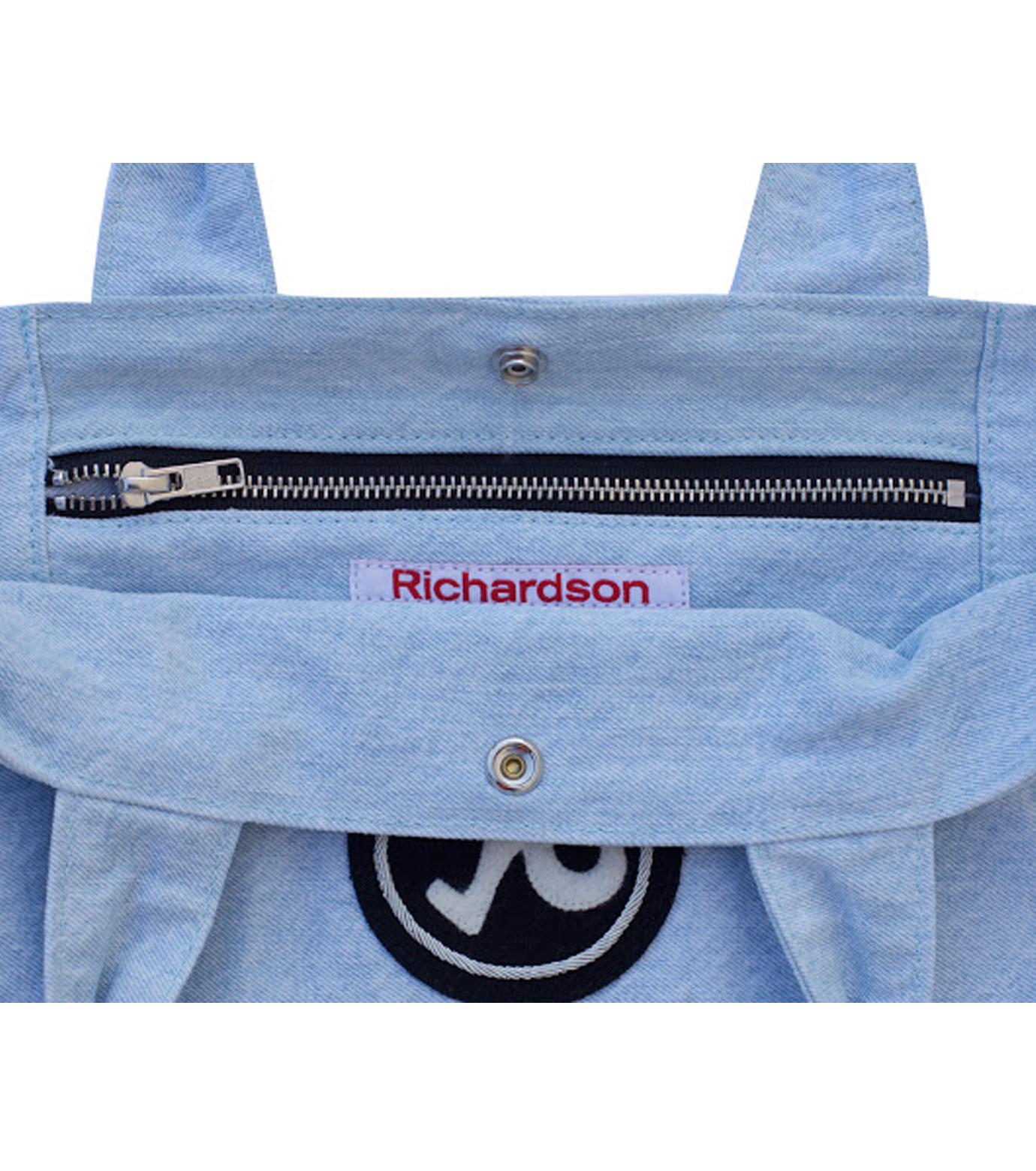 Richardson Magazine(リチャードソン マガジン)のDenim Tote-BLUE(ハンドバッグ/hand bag)-AW16011-92 拡大詳細画像3