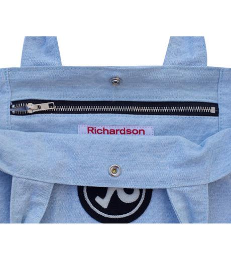 Richardson Magazine(リチャードソン マガジン)のDenim Tote-BLUE(ハンドバッグ/hand bag)-AW16011-92 詳細画像3