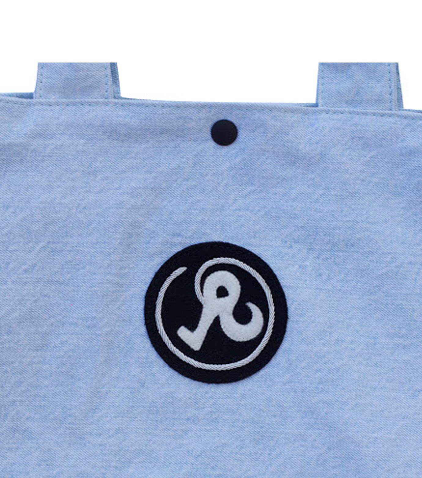 Richardson Magazine(リチャードソン マガジン)のDenim Tote-BLUE(ハンドバッグ/hand bag)-AW16011-92 拡大詳細画像4