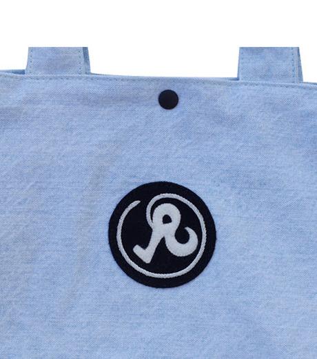 Richardson Magazine(リチャードソン マガジン)のDenim Tote-BLUE(ハンドバッグ/hand bag)-AW16011-92 詳細画像4