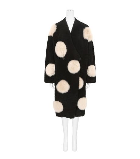 ANNE VEST(アンベスト)のLayla Coat w/Dots Reversible-BLACK-AW160121028-13 詳細画像1