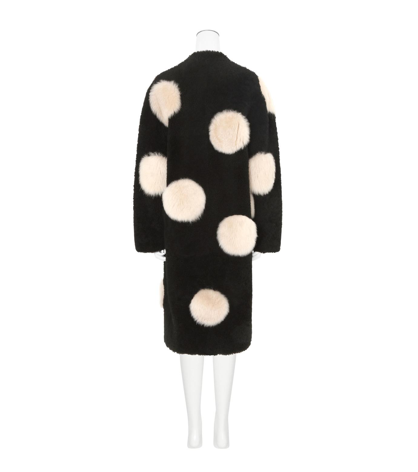 ANNE VEST(アンベスト)のLayla Coat w/Dots Reversible-BLACK-AW160121028-13 拡大詳細画像2
