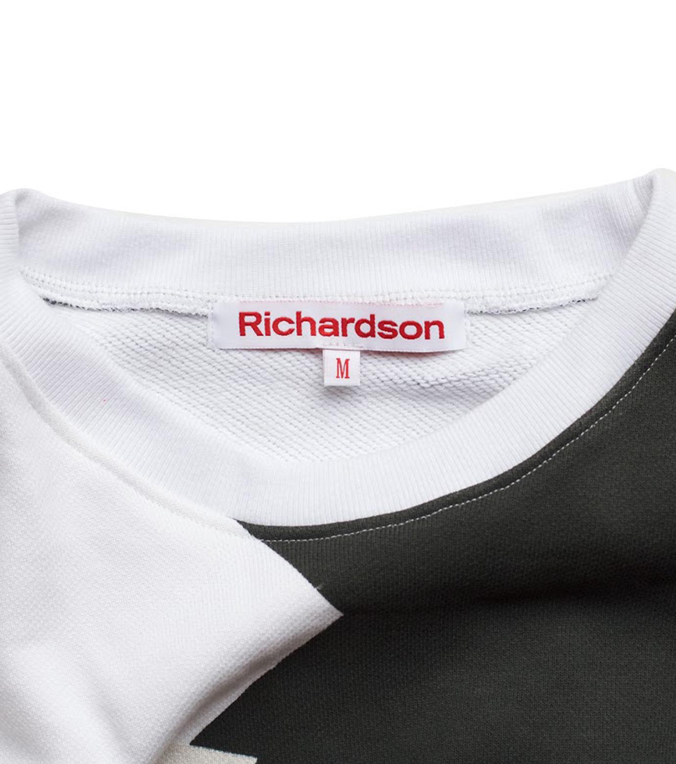 Richardson Magazine(リチャードソン マガジン)のDazzle Crew-BLACK(カットソー/cut and sewn)-AW16040-13 拡大詳細画像3