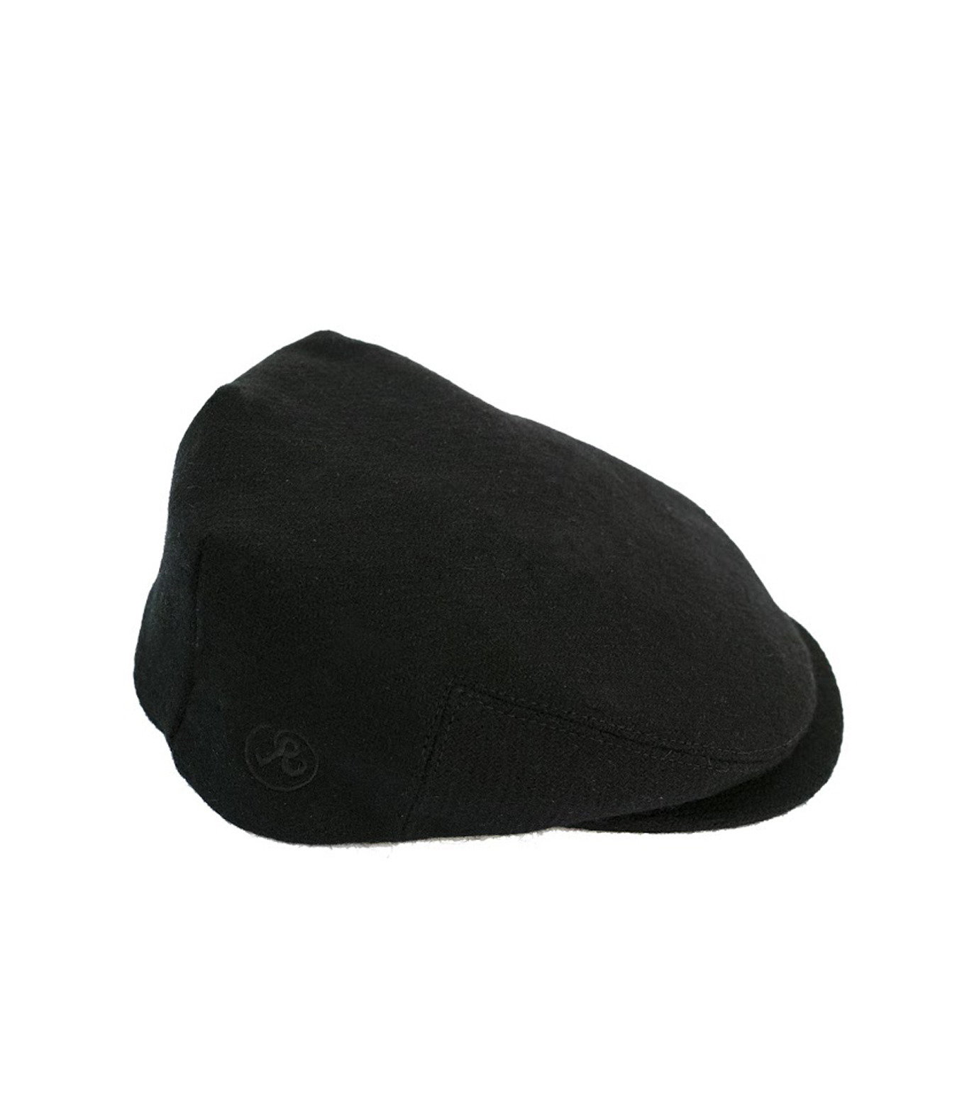 Richardson Magazine(リチャードソン マガジン)のHarris Tweed Flat Cap-BLACK(キャップ/cap)-AW16045-13 拡大詳細画像1