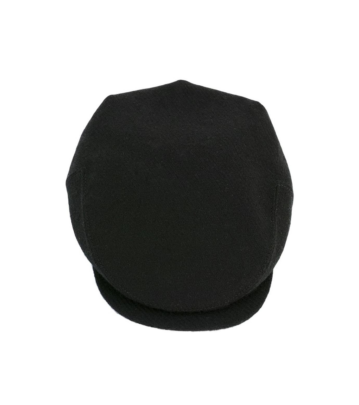 Richardson Magazine(リチャードソン マガジン)のHarris Tweed Flat Cap-BLACK(キャップ/cap)-AW16045-13 拡大詳細画像2