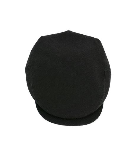 Richardson Magazine(リチャードソン マガジン)のHarris Tweed Flat Cap-BLACK(キャップ/cap)-AW16045-13 詳細画像2