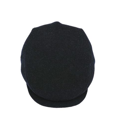 Richardson Magazine(リチャードソン マガジン)のHarris Tweed Flat Cap-NAVY(キャップ/cap)-AW16045-93 詳細画像2