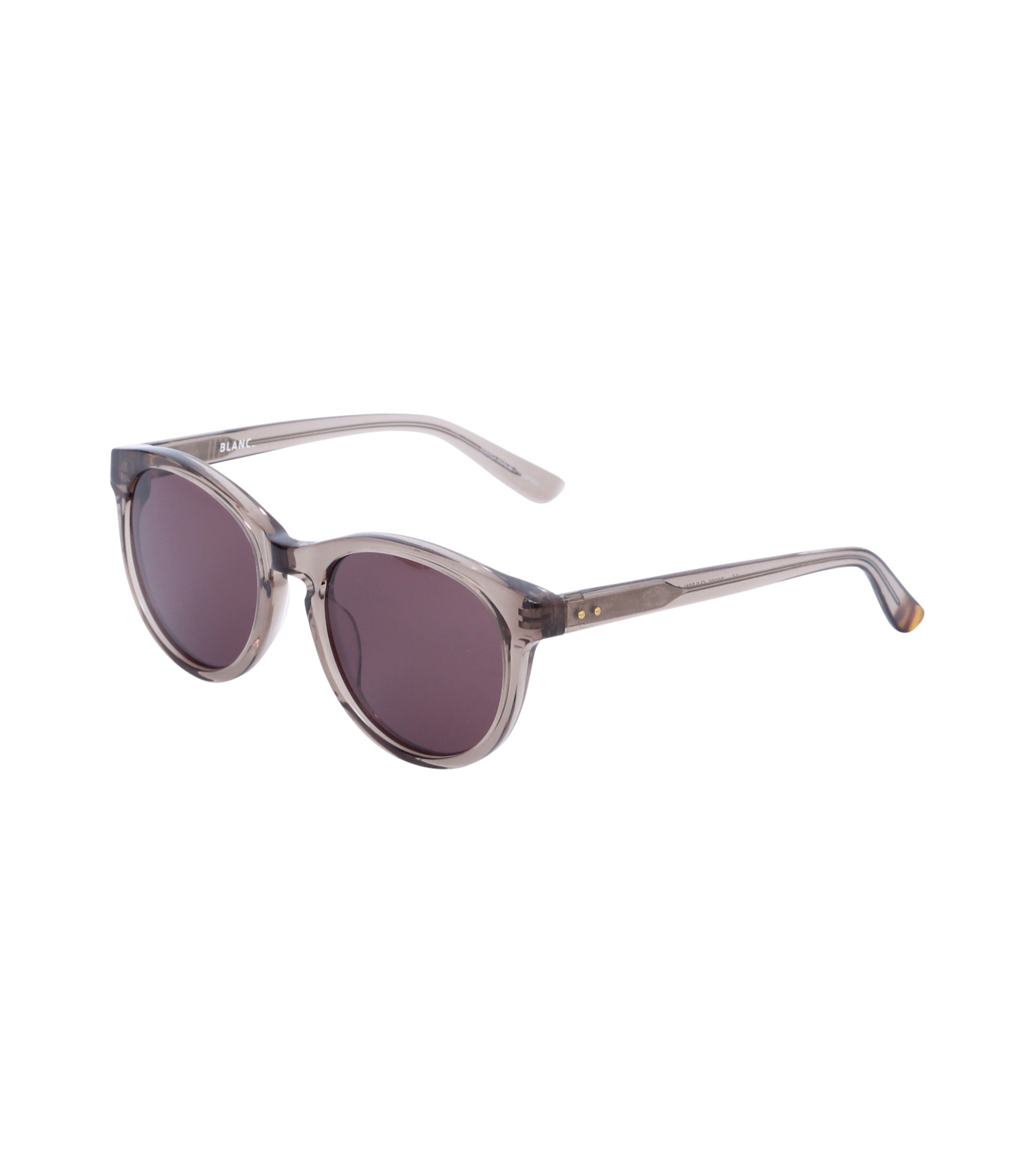 BLANC(ブラン)のOval Frame Sunglass-SILVER(アイウェア/eyewear)-B0005-1 拡大詳細画像1