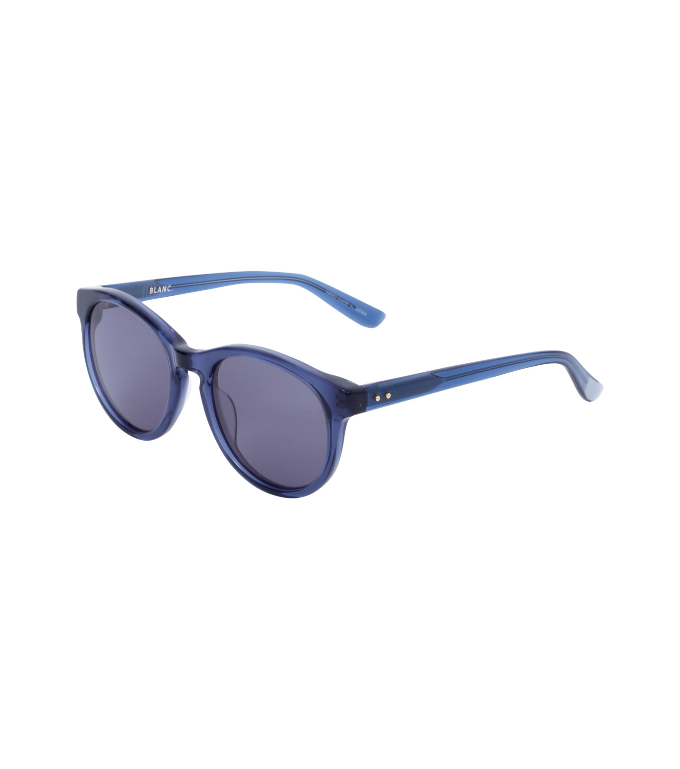 BLANC(ブラン)のOval Frame Sunglass-BLUE(アイウェア/eyewear)-B0005-92 拡大詳細画像1