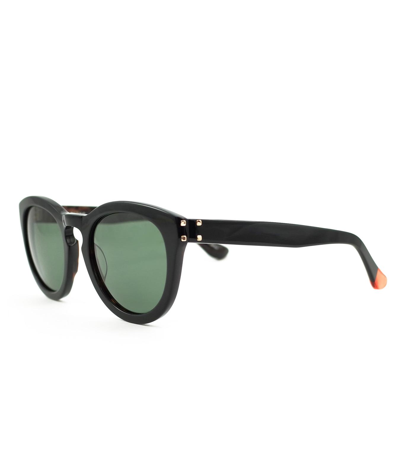 BLANC(ブラン)のThick Frame Sunglass-BLACK(アイウェア/eyewear)-B0007-13 拡大詳細画像1