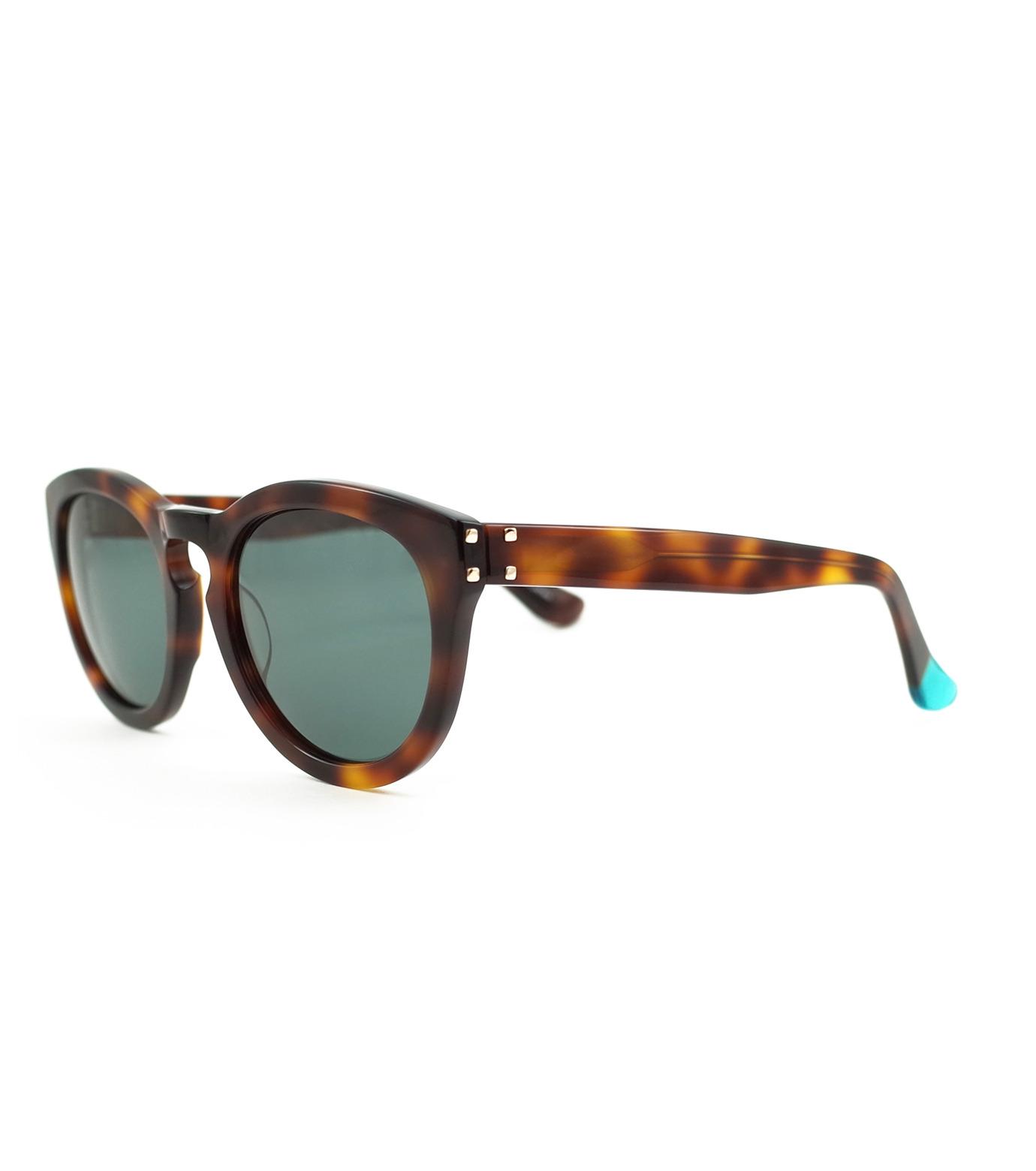BLANC(ブラン)のThick Frame Sunglass-BROWN(アクセサリー/accessory)-B0007-42 拡大詳細画像1