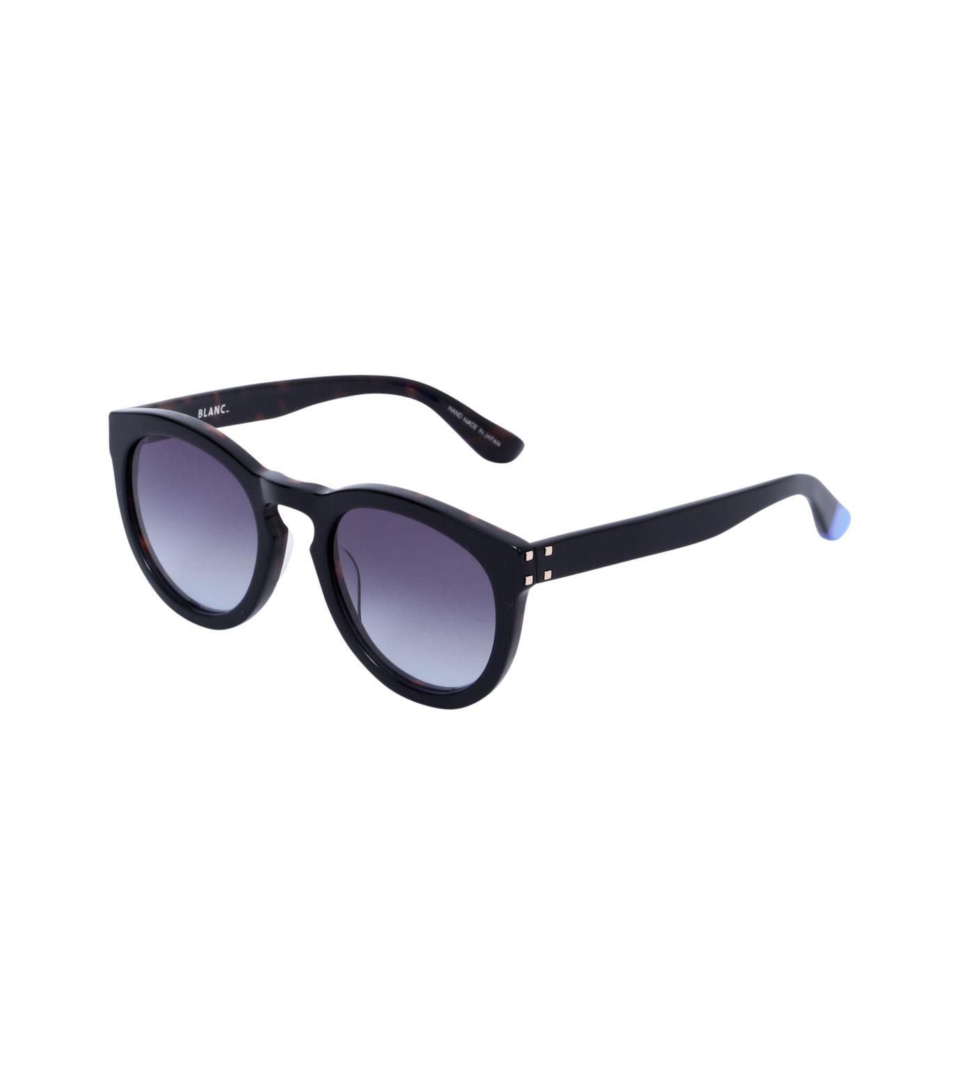 BLANC(ブラン)のThick Frame Sunglass-BLACK(アイウェア/eyewear)-B0007-N-13 拡大詳細画像1