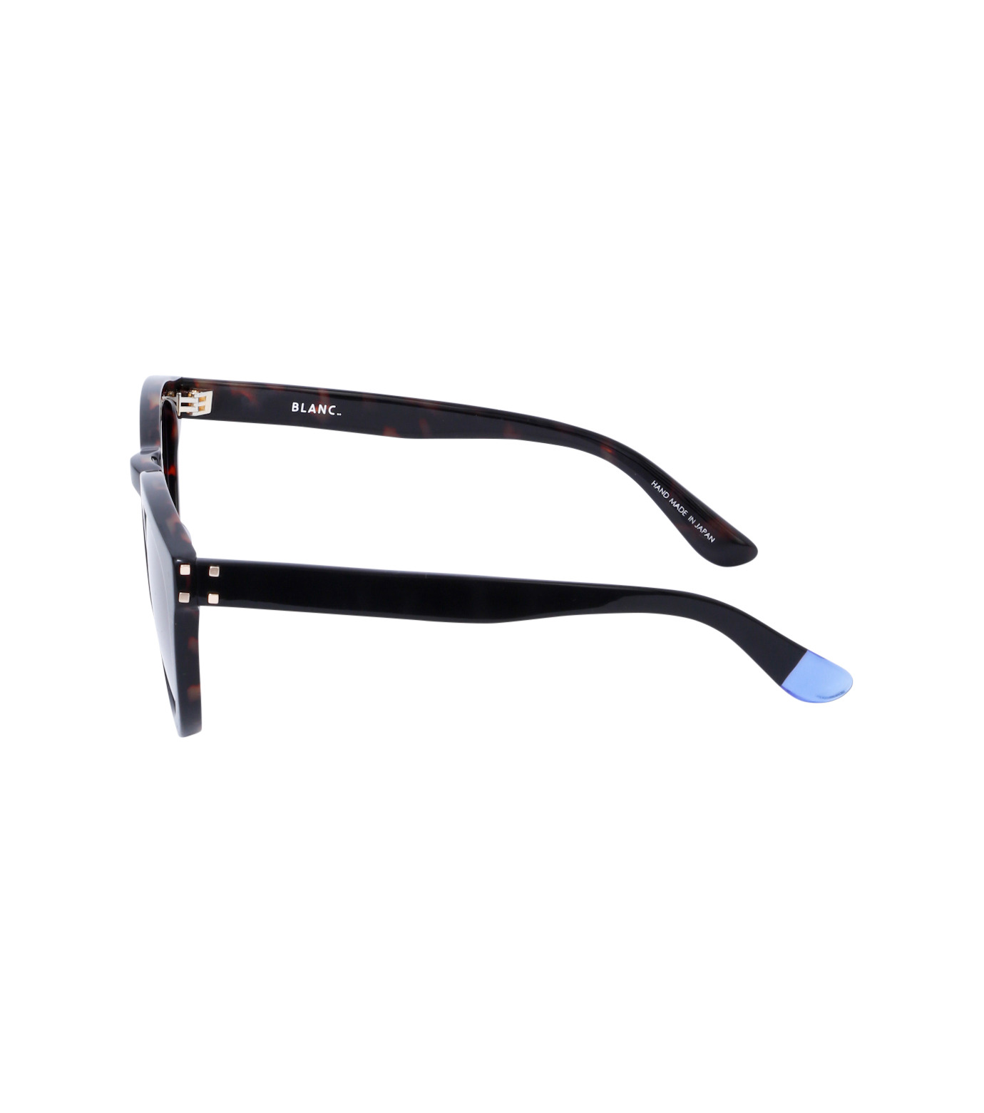 BLANC(ブラン)のThick Frame Sunglass-BLACK(アイウェア/eyewear)-B0007-N-13 拡大詳細画像2