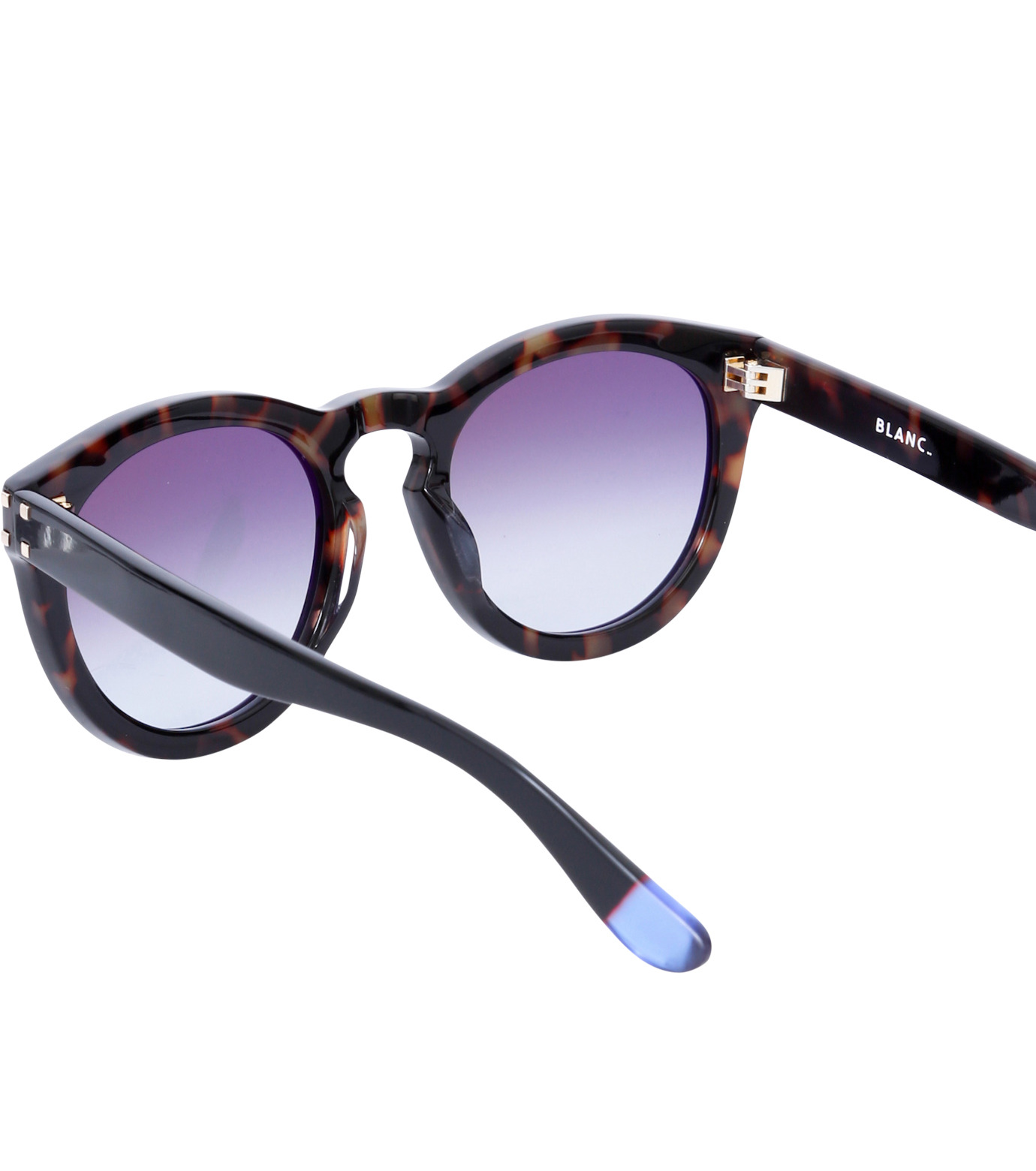 BLANC(ブラン)のThick Frame Sunglass-BLACK(アイウェア/eyewear)-B0007-N-13 拡大詳細画像4