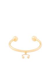 Maria Francesca Pepe Pierced Cuff Bracelet