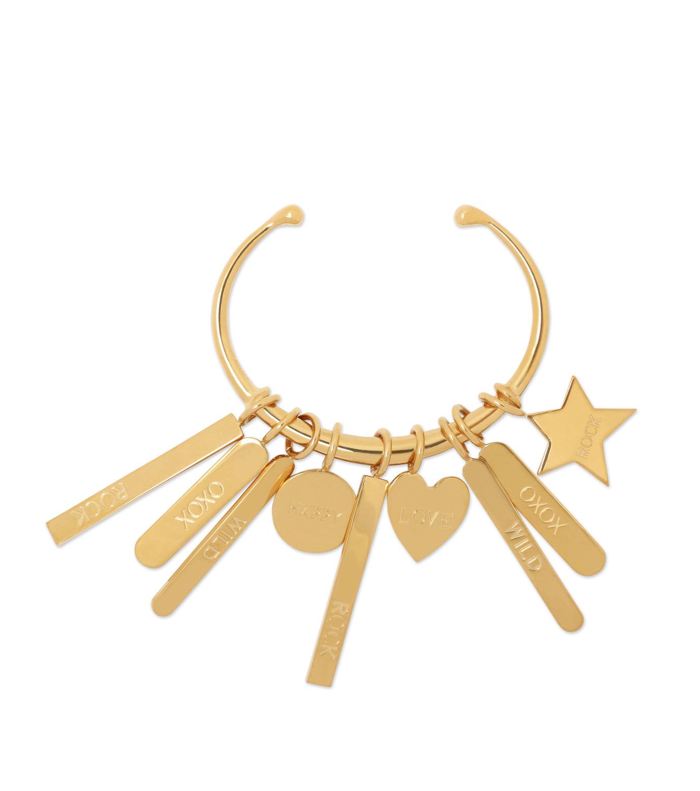 Chloe(クロエ)のMessage Bracelet-GOLD(ブレスレット/bracelet)-B910CB7C-2 拡大詳細画像1