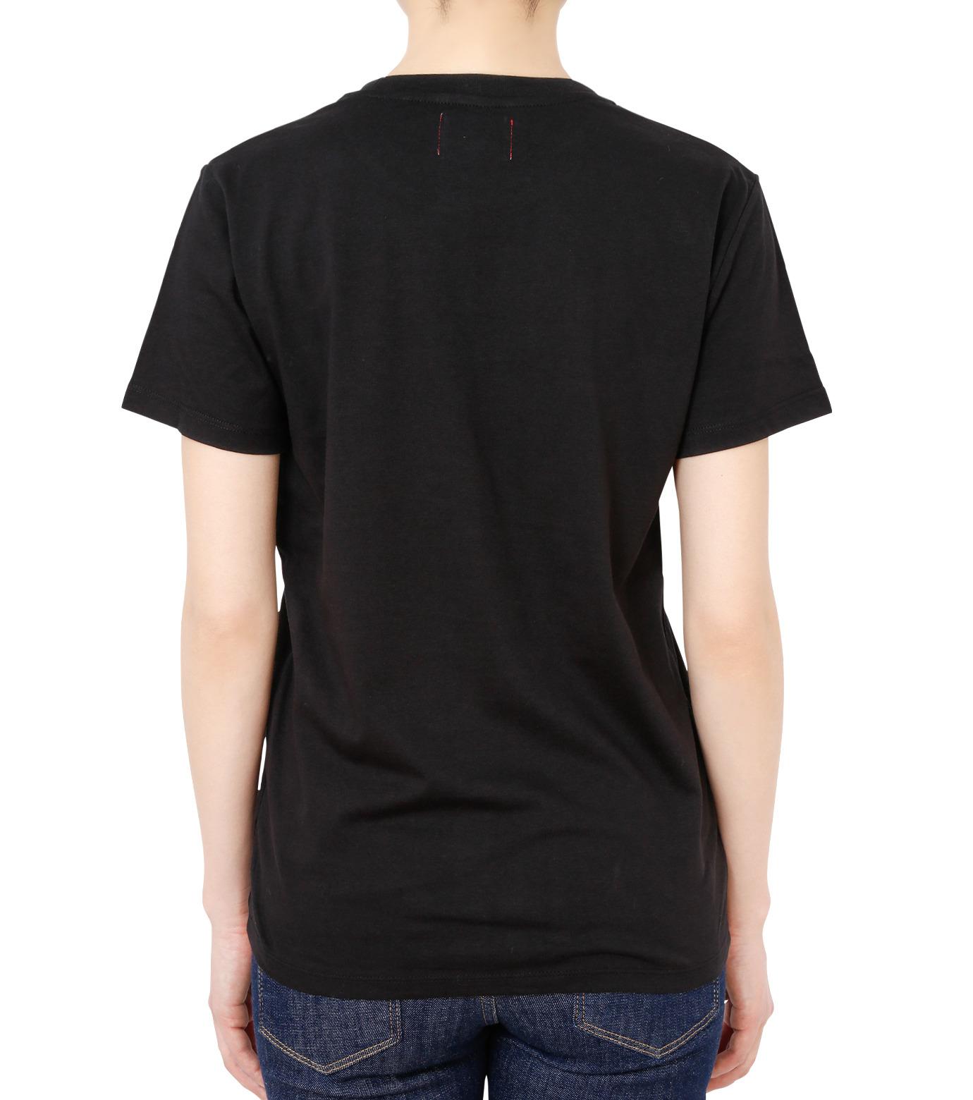 No One(ノーワン)のPanama T-shirt-BLACK(カットソー/cut and sewn)-BA545-13 拡大詳細画像2
