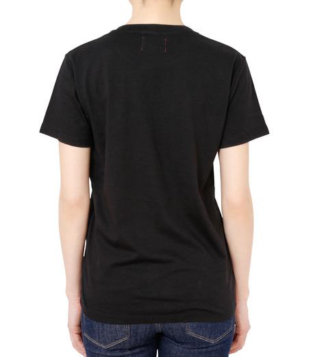 No One(ノーワン)のPanama T-shirt-BLACK(カットソー/cut and sewn)-BA545-13 詳細画像2