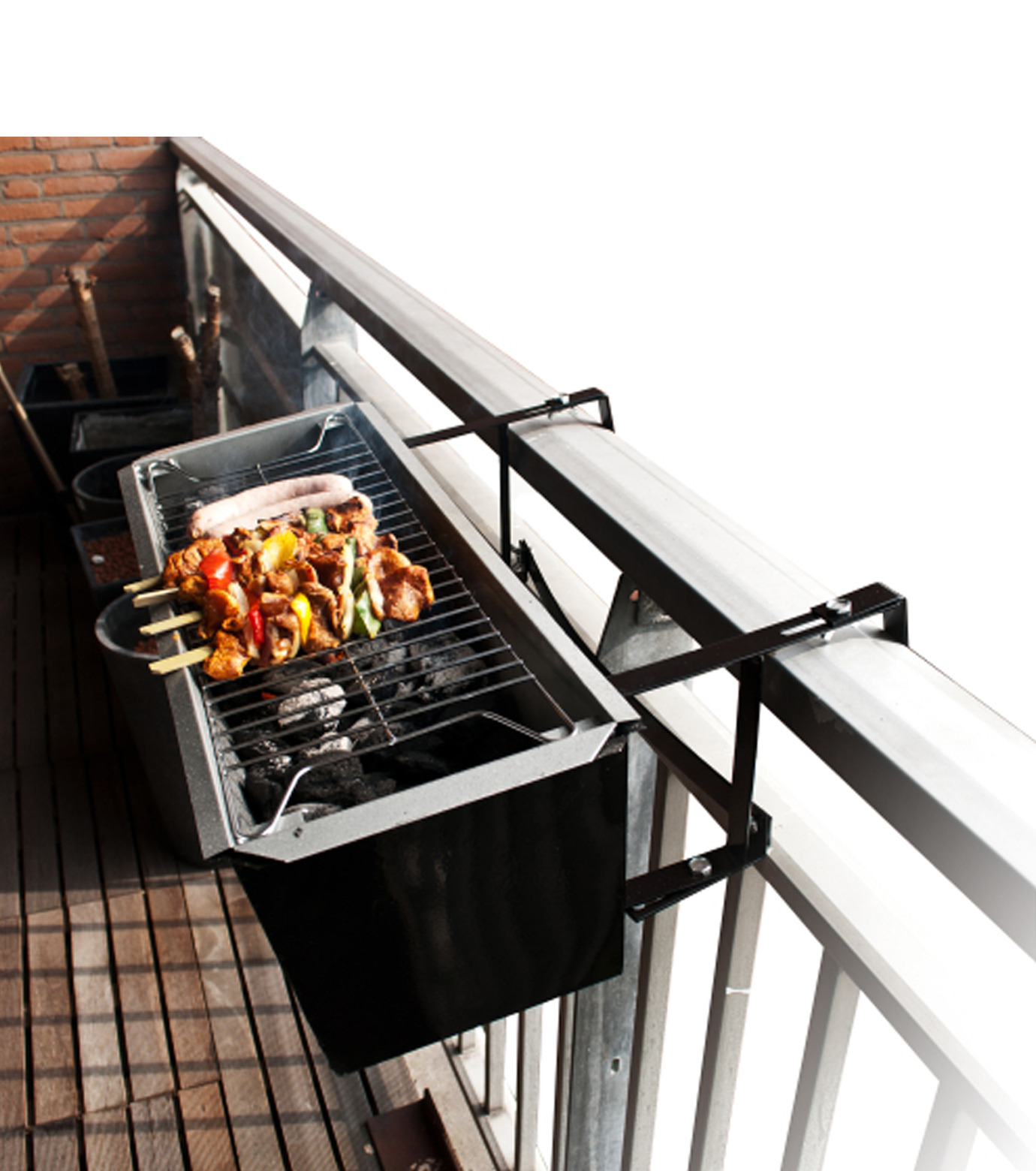 Thumbs Up(サムズアップ)のBalcony BBQ-BLACK(キッチン/OTHER-GOODS/kitchen/OTHER-GOODS)-BALBBQ-13 拡大詳細画像2