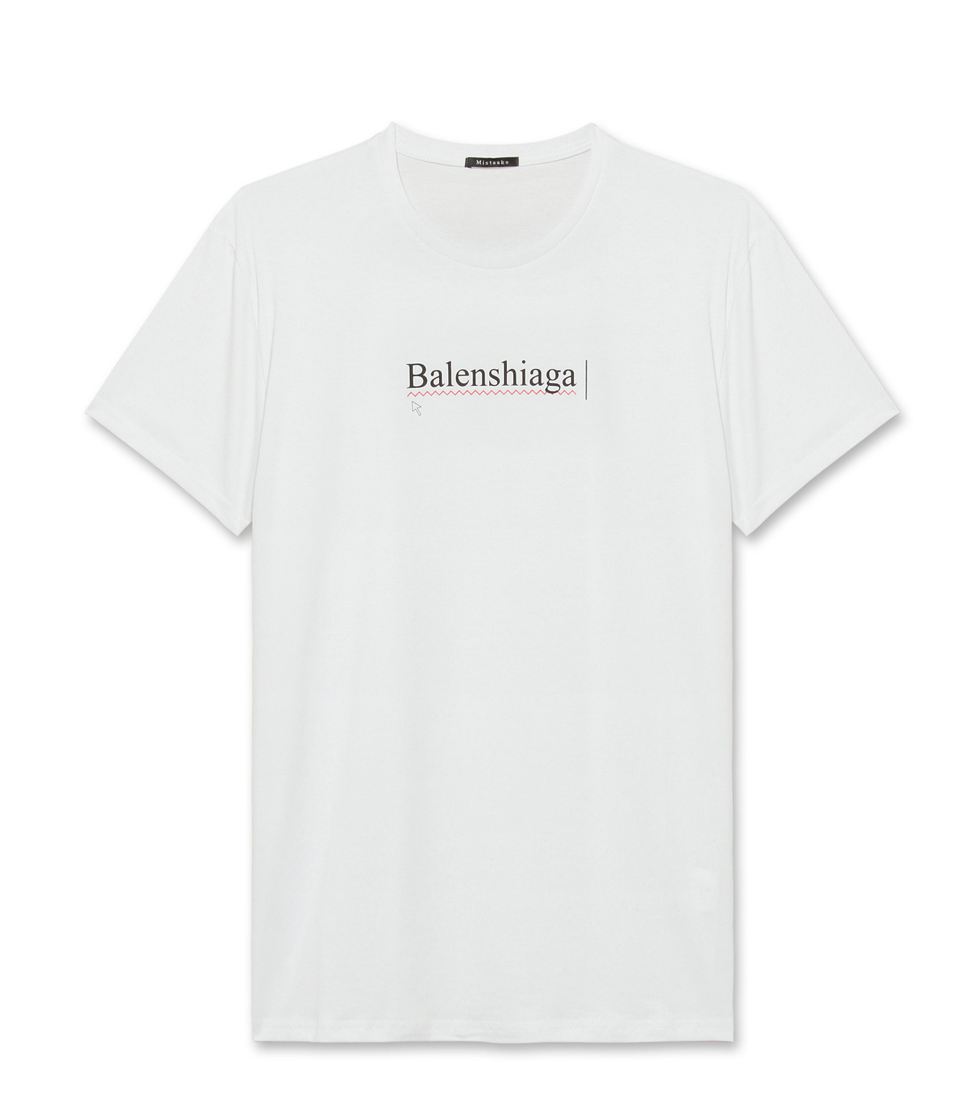 Mistaake(ミステイク)のBalemshiaga-WHITE(T-SHIRTS/T-SHIRTS)-BALWH-4 拡大詳細画像1