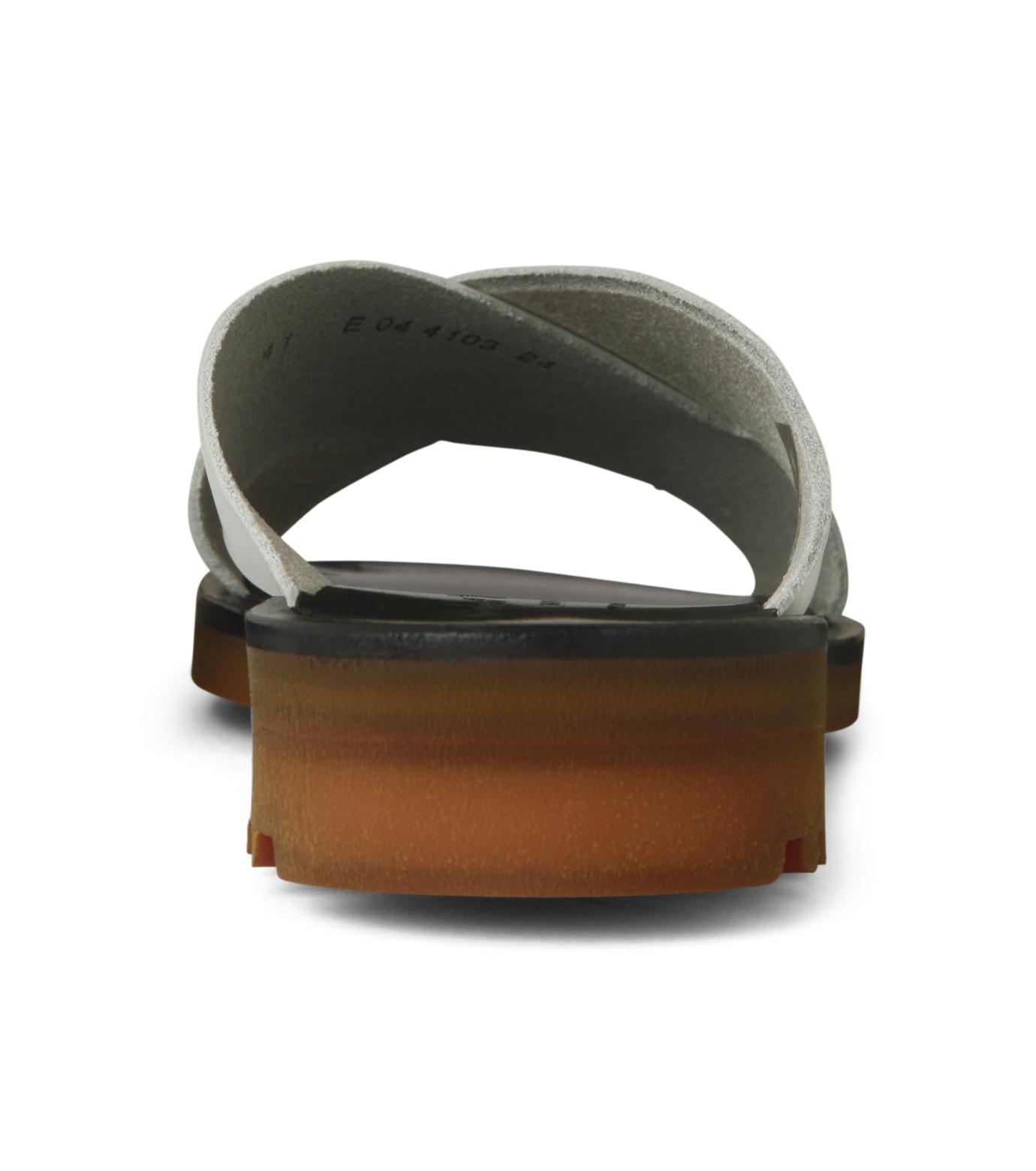 Robert Clergerie(ロベール・クレジュリー)のCross Strap Sandal-WHITE(シューズ/shoes)-BART01-T-4 拡大詳細画像2