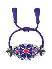 Shourouk Bora Cobalt Bracelet