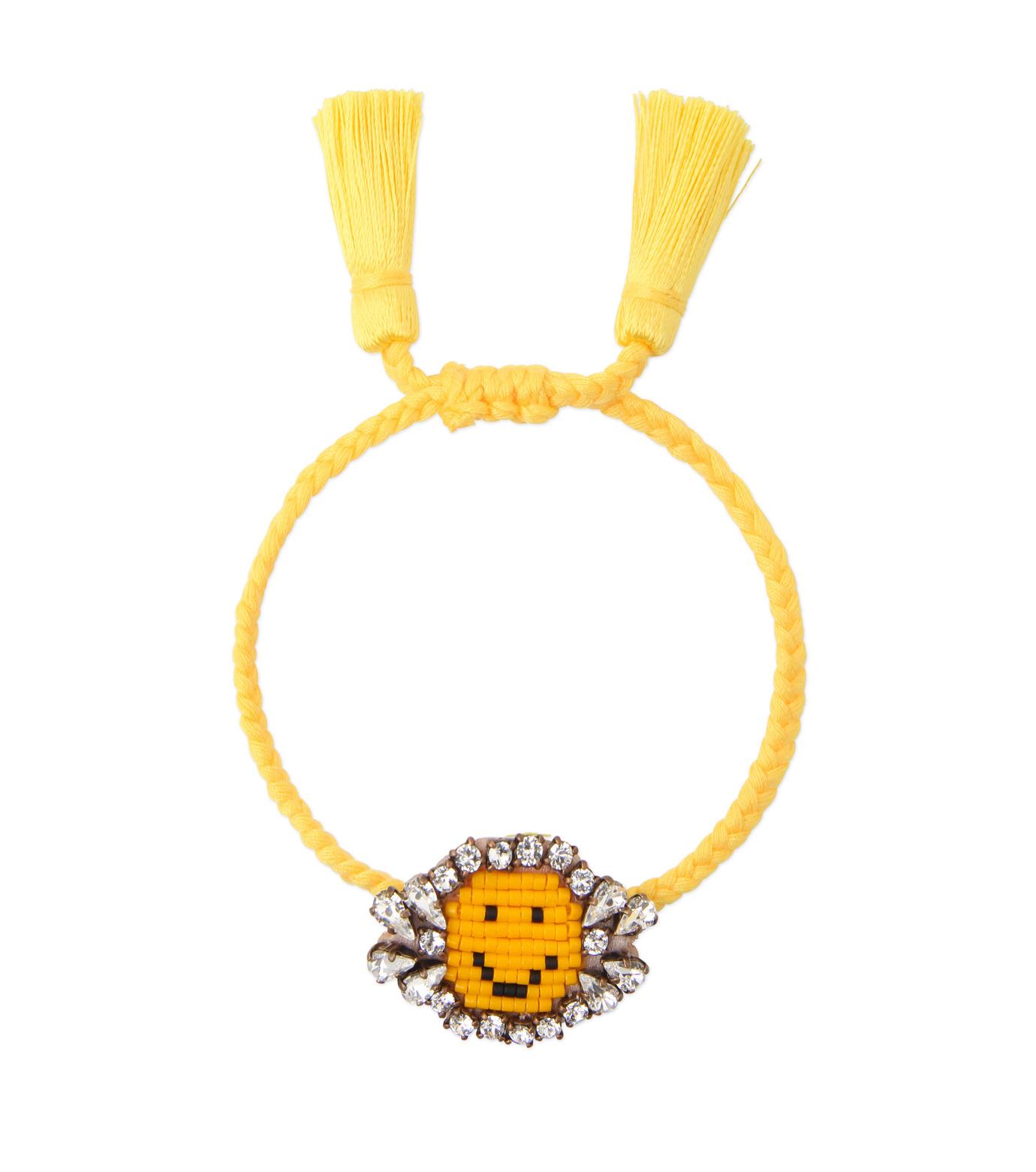 Shourouk(シュローク)のAthna Bracelet Smily-YELLOW(ブレスレット/bracelet)-BCSS16-009-32 拡大詳細画像1