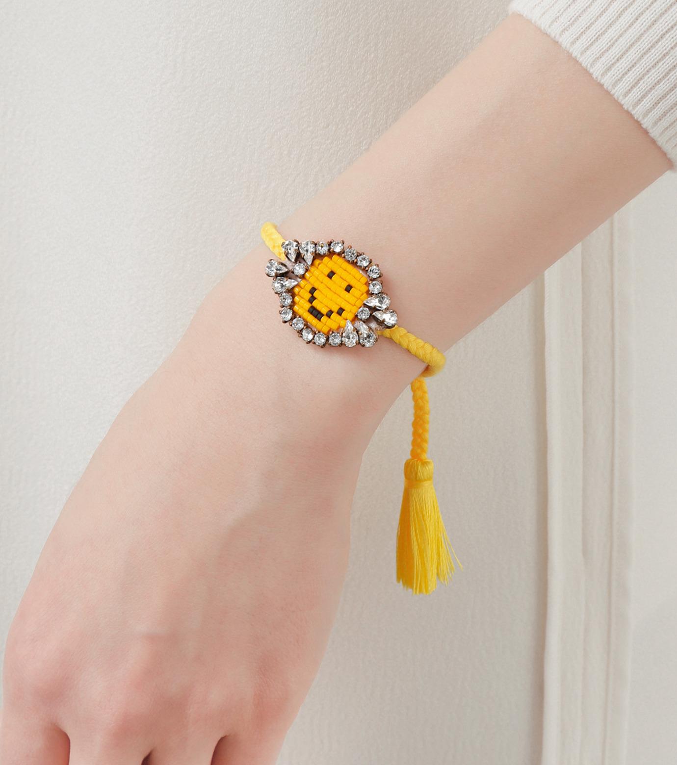 Shourouk(シュローク)のAthna Bracelet Smily-YELLOW(ブレスレット/bracelet)-BCSS16-009-32 拡大詳細画像2