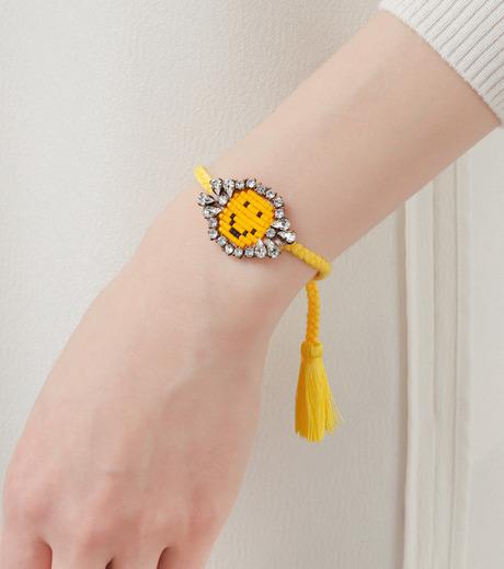 Shourouk(シュローク)のAthna Bracelet Smily-YELLOW(ブレスレット/bracelet)-BCSS16-009-32 詳細画像2