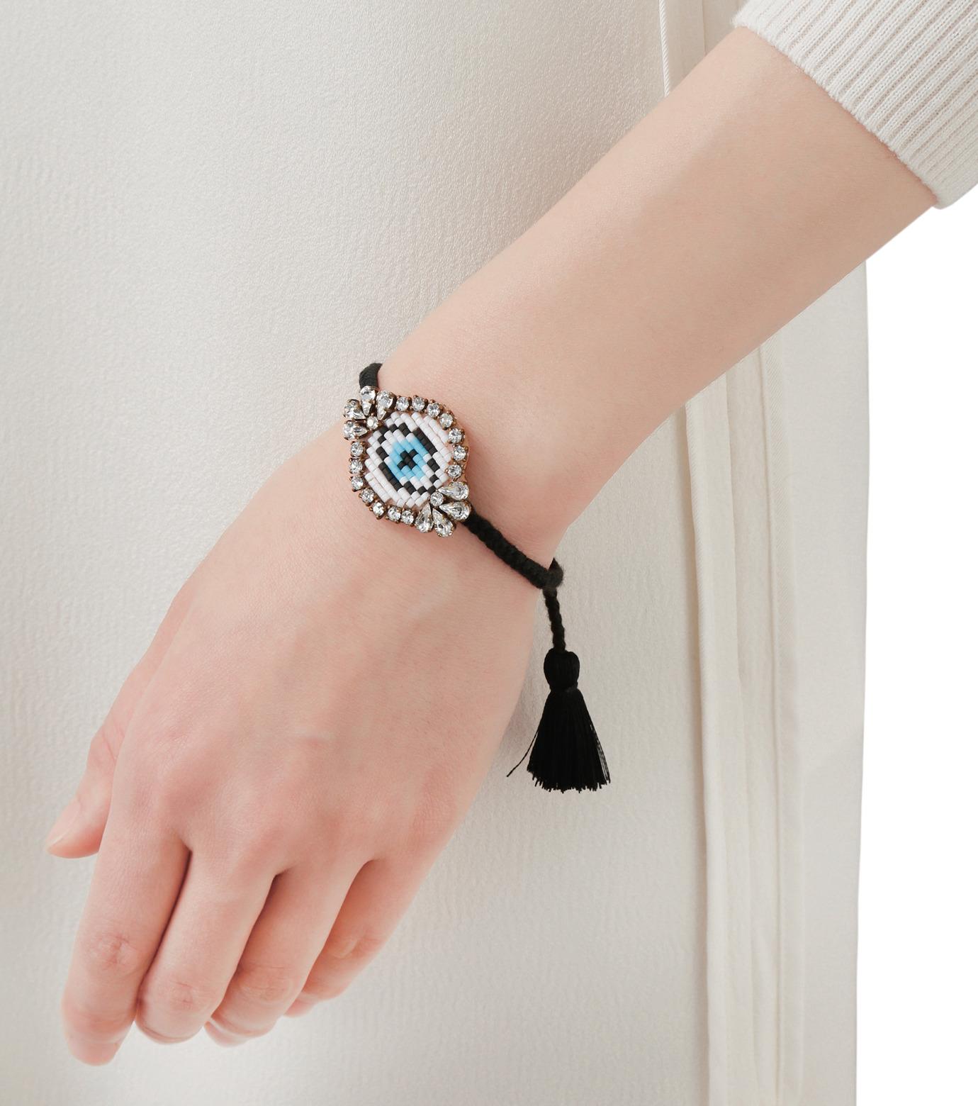 Shourouk(シュローク)のAthna Bracelet Eye-BLACK(ブレスレット/bracelet)-BCSS16-012-13 拡大詳細画像2