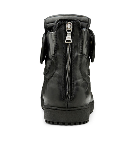 Neil Barrett(ニール バレット)のLeather Sneaker-BLACK-BCT43 詳細画像3