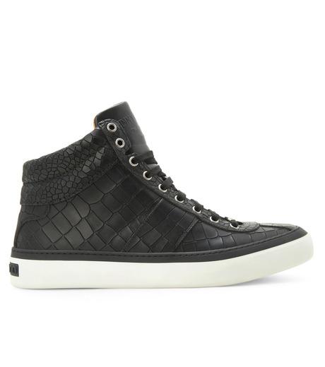 Croco emboss sneaker-13