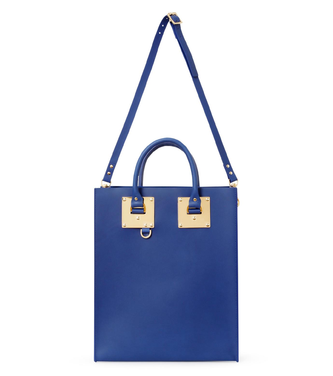 Sophie Hulme(ソフィーヒュルム)のLarge Tote Bag-BLUE(バッグ/bag)-BG047LE-L-92 拡大詳細画像1