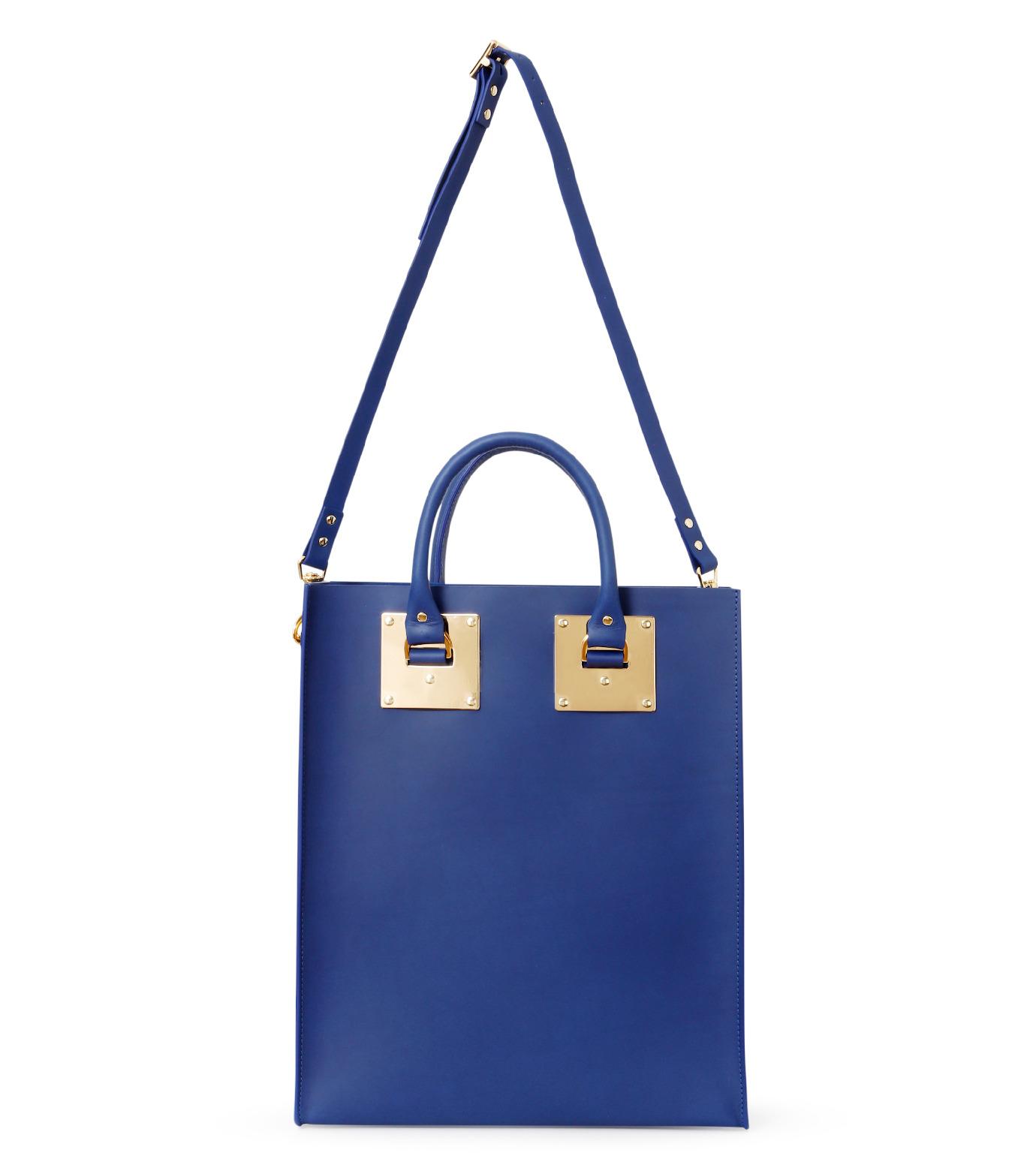 Sophie Hulme(ソフィーヒュルム)のLarge Tote Bag-BLUE(バッグ/bag)-BG047LE-L-92 拡大詳細画像2