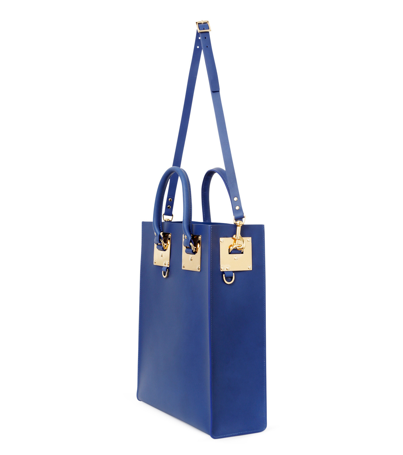 Sophie Hulme(ソフィーヒュルム)のLarge Tote Bag-BLUE(バッグ/bag)-BG047LE-L-92 拡大詳細画像3