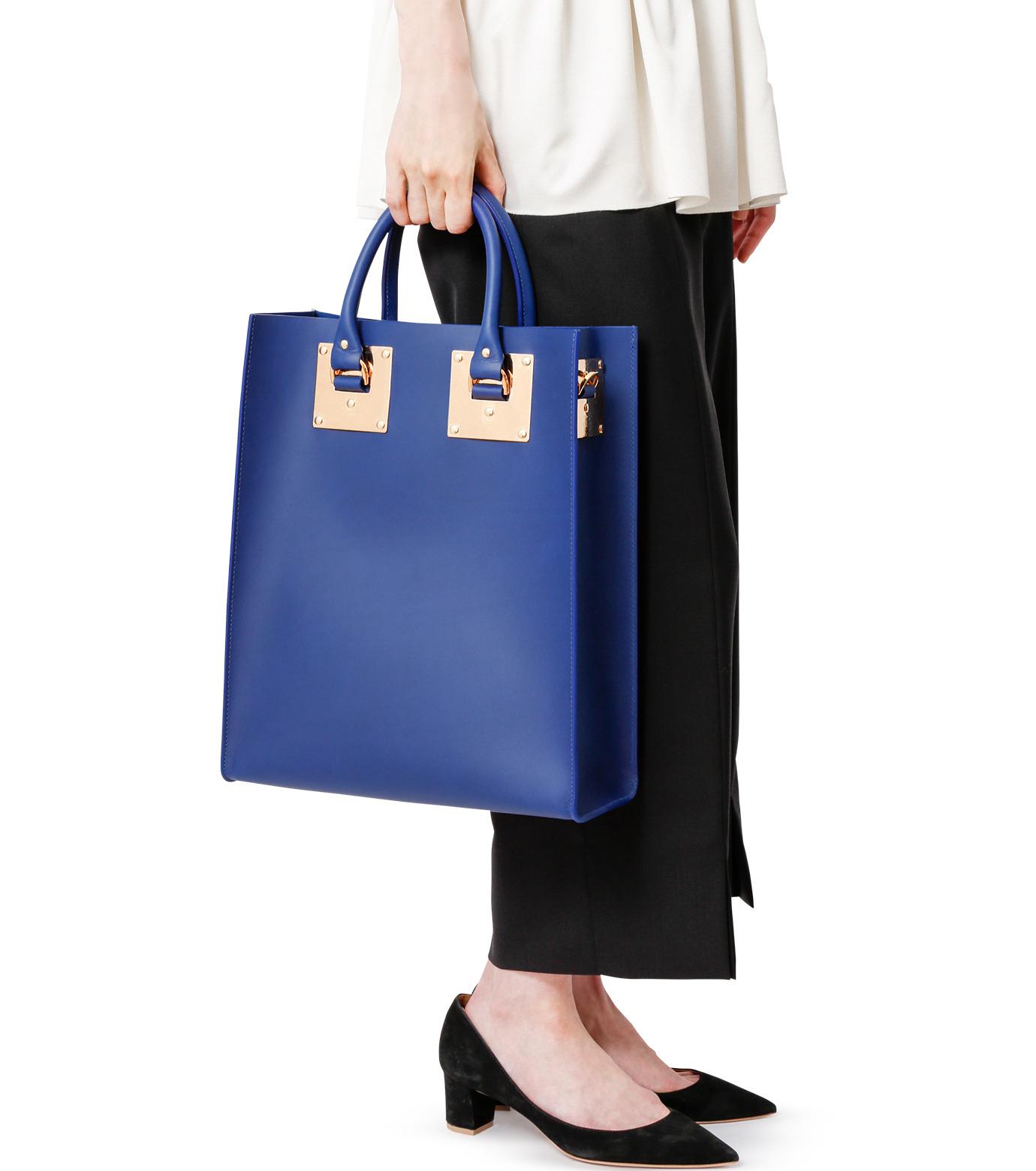 Sophie Hulme(ソフィーヒュルム)のLarge Tote Bag-BLUE(バッグ/bag)-BG047LE-L-92 拡大詳細画像6