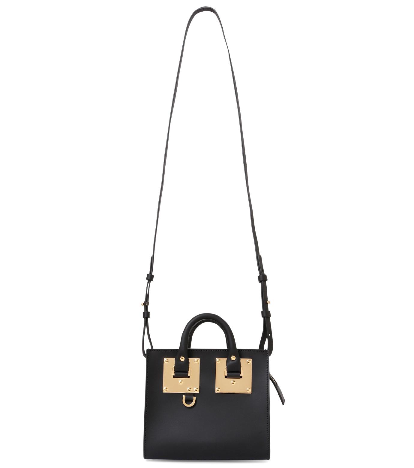 Sophie Hulme(ソフィーヒュルム)のBox Tote Bag-BLACK(ショルダーバッグ/shoulder bag)-BG070LE-13 拡大詳細画像1