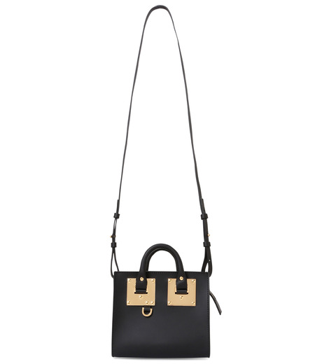 Sophie Hulme(ソフィーヒュルム)のBox Tote Bag-BLACK(ショルダーバッグ/shoulder bag)-BG070LE-13 詳細画像1
