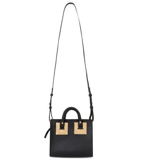 Sophie Hulme(ソフィーヒュルム)のBox Tote Bag-BLACK(ショルダーバッグ/shoulder bag)-BG070LE-13 詳細画像2