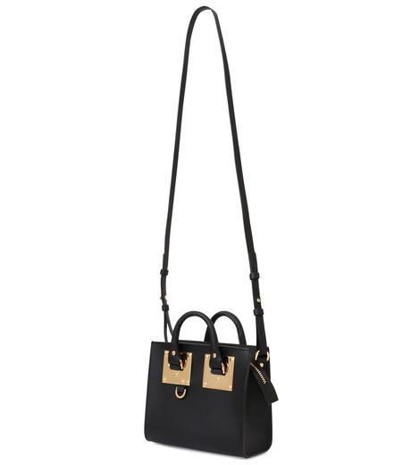 Sophie Hulme(ソフィーヒュルム)のBox Tote Bag-BLACK(ショルダーバッグ/shoulder bag)-BG070LE-13 詳細画像3