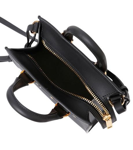 Sophie Hulme(ソフィーヒュルム)のBox Tote Bag-BLACK(ショルダーバッグ/shoulder bag)-BG070LE-13 詳細画像4