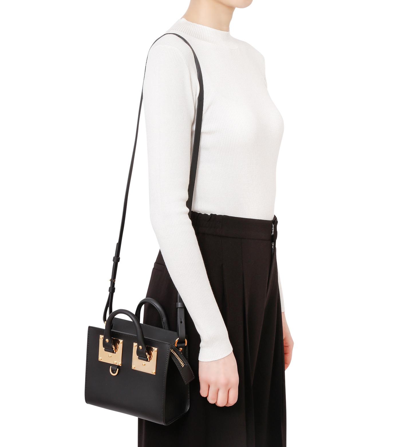Sophie Hulme(ソフィーヒュルム)のBox Tote Bag-BLACK(ショルダーバッグ/shoulder bag)-BG070LE-13 拡大詳細画像5