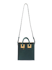 Sophie Hulme Square Albion Saddle Leather