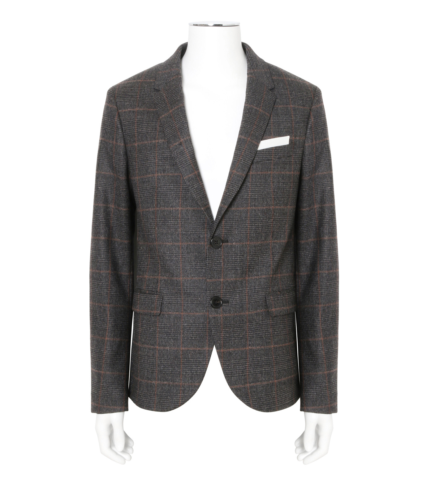 Neil Barrett(ニール バレット)のHoundtooth Jacket-GRAY(SUITS-JK/SUITS-JK)-BGI343-11 拡大詳細画像1