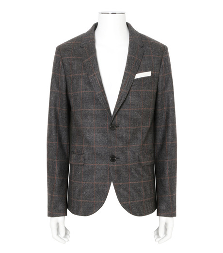 Neil Barrett(ニール バレット)のHoundtooth Jacket-GRAY(SUITS-JK/SUITS-JK)-BGI343-11 詳細画像1