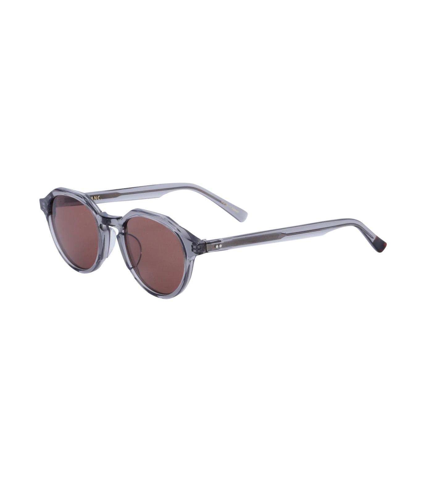 BLANC(ブラン)のOctagon Sunglass-GRAY(アイウェア/eyewear)-BM001-11 拡大詳細画像1