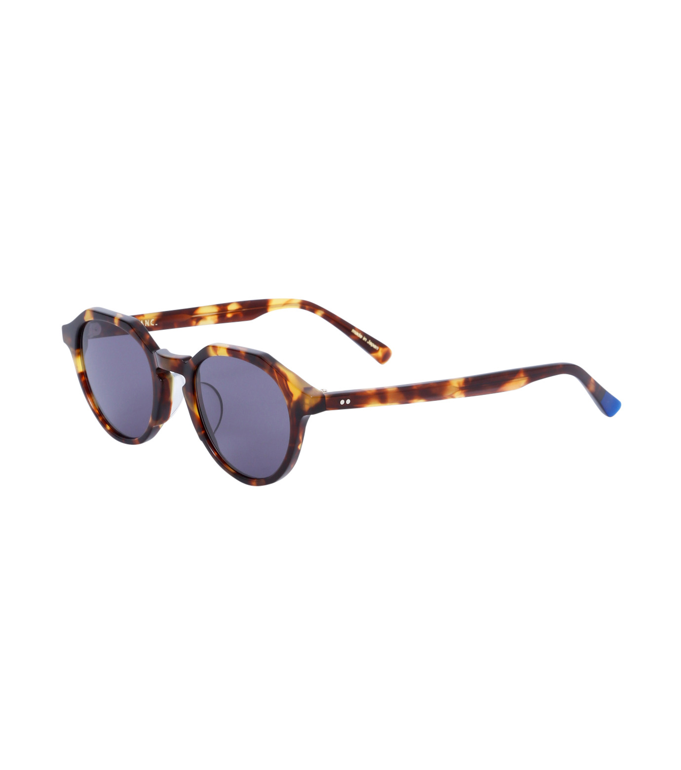 BLANC(ブラン)のOctagon Sunglass-BROWN(アイウェア/eyewear)-BM001-42 拡大詳細画像1