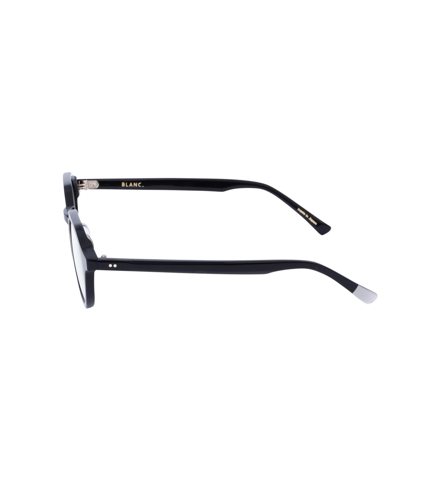 BLANC(ブラン)のOctagon Clear Sunglass-BLACK(アイウェア/eyewear)-BM001-clear-13 拡大詳細画像2